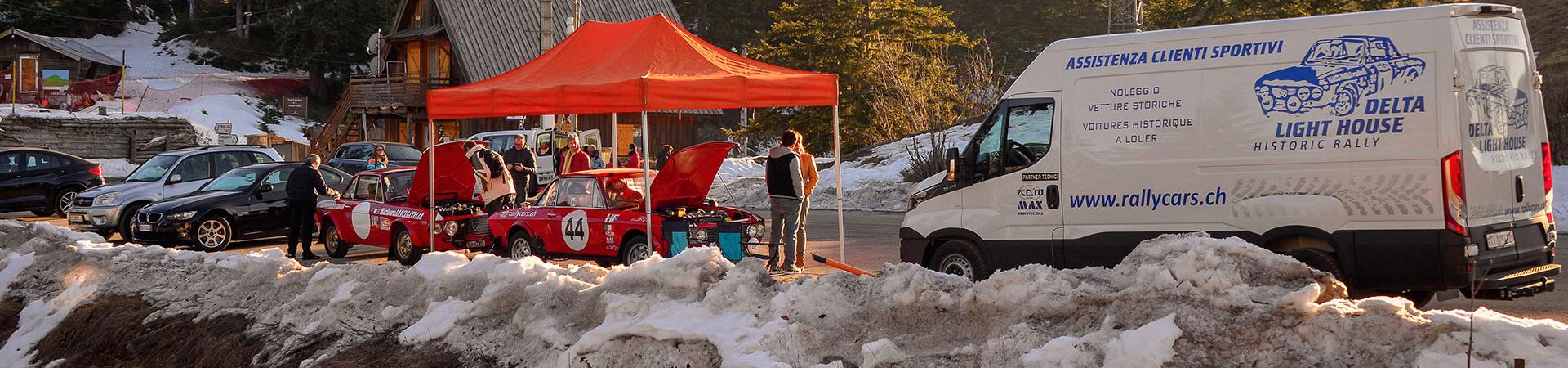 Rally Cars noleggio auto storiche per rally e gare regolarità